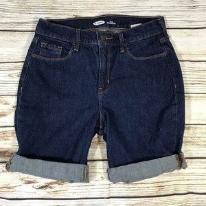 Old Navy Hi Rise Secret Slim Jean Shorts